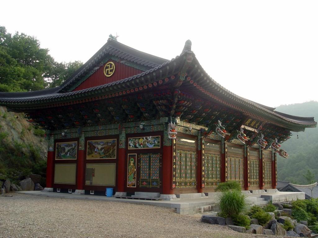 Kórejský Zenový klášter